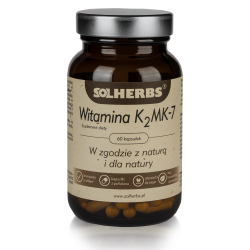 Witamina K2MK-7 SOLHERBS